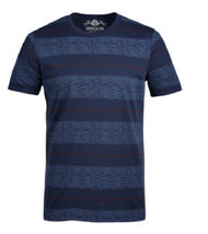 American Rag Men's Heathered Striped T-Shirt, Basic Navy, Size S - $11.87