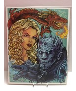 Game of Thrones Fire & Ice Fan 8x10 Bam Box Exclusive Art Print by Brian... - $11.35