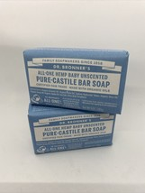 Dr. Bronner's Pure-Castile Organic Bar Soap Baby Unscented, 5 ounce, 2-Pack - $15.43