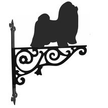 Shih Tzu Ornamental Hanging Bracket - $37.95