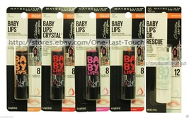 MAYBELLINE* 8Hr Moisture BABY LIPS 100 Year Anniversary Lip Balm *YOU CH... - $5.04