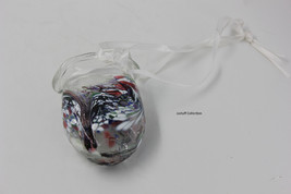 Flame Alley Hand blown glass suncatcher hanging vase - $25.00