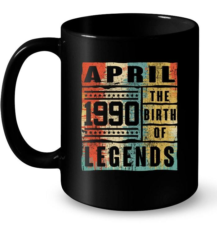 Primary image for Retro The Birth Legend April 1990 28th Birthday Gifts 28 yrs