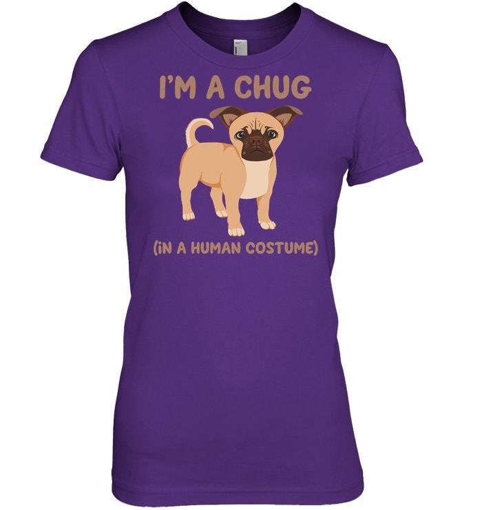 Funny Chugs Chug Dog Costume Tshirt