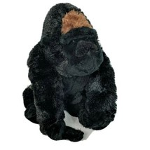 "Ganz Webkinz Silverback Gorilla Black Gray Plush Stuffed Animal HM335 8"" - $15.84"