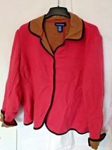 EVAN PICONE WOMENS JACKET Warm Coat 22W Button ... - $23.95