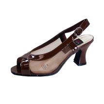 PEERAGE River Women's Wide Width Leather Open-Toe Dress Sandals - $39.95