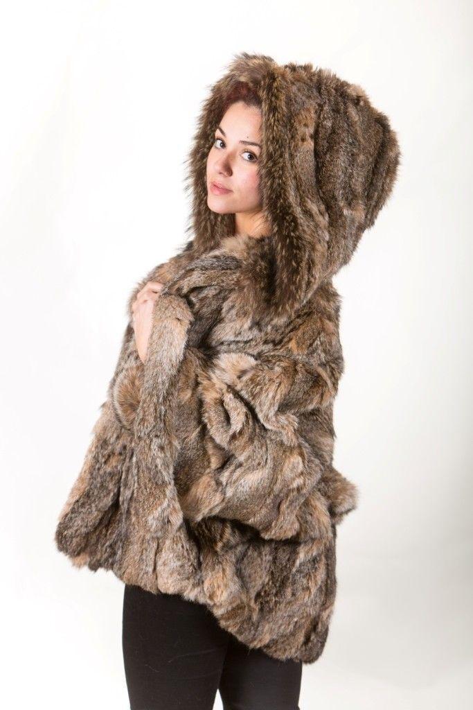 Canadian Lynx Fur Cape Hood Belt image 5
