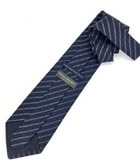 New BANANA REPUBLIC TIE Navy Silk Men's Neck Tie Made in Italy - $12.47