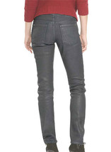Angular Leather Pants Grey Colour Mono ectric, Women Wasit Belted Pants,... - $179.99+