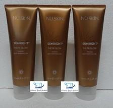 Three pack: Nu Skin Nuskin Sunright Insta Glow Tinted Self-Tanning Gel 125ml x3 - $78.00