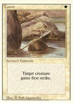 Magic: The Gathering 3rd Edition - Lance - $0.25