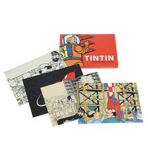 Tintin Moon adventure 16 postcards booklet
