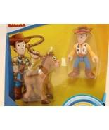 Imaginext - Toy Story 4 - Disney Pixar - Woody & Bullseye Figures - $12.82