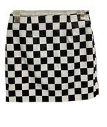 Forever 21 women's mini skirt checks black white size S - $12.76