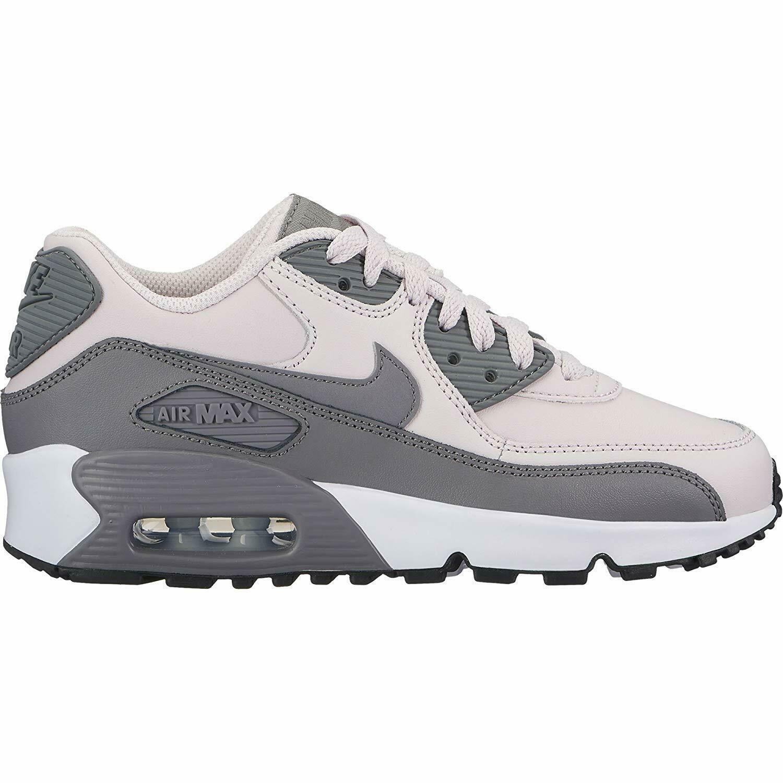 Nike Air Max 90 LTR (GS) Barely Rose Gunsmoke White Grade School 833376 601
