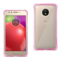 New Reiko Motorola Moto E4 Active Clear Bumper Case With Air Cushion Pro... - $14.29