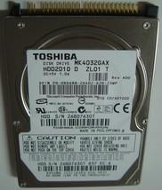 "NEW MK4032GAX Toshiba HDD2D10 40GB 2.5"" IDE Hard Drive Free USA Ship"