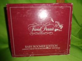 Trivial Pursuit Baby Boomer Genius Edition Subsidiary Card Set Trivia Bo... - $7.91