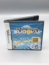 Platinum Sudoku Nintendo DS Complete with Case, Manuel & Game - $9.89