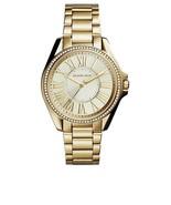 Michael Kors MK6184 Runway Gold Dial Gold Tone Stainless Steel Women's W... - $132.99