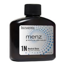Scruples Menz 5 Minute Haircolor - 1N Brown Black Neutral Base 2oz