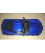 MAISTO 2014 CORVETTE STINGRAY BLUE 1:18 SCALE - $11.88