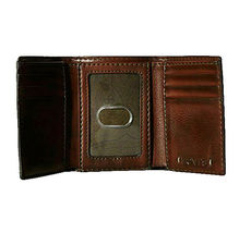 Levi's Men's Extra Capacity Credit Card ID Trifold Brown Wallet 31LV110002 image 3