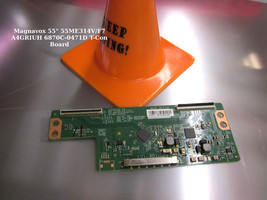 """Magnavox 55"""" 55ME314V/F7 A4GRIUH 6870C-0471D T-Con Board - $21.95"""