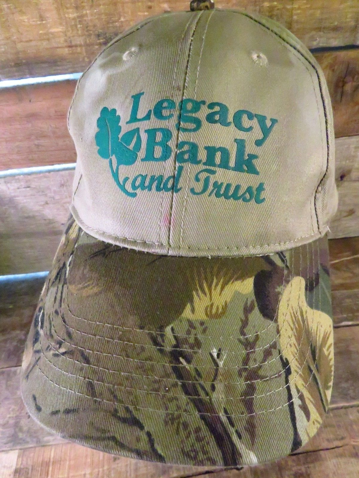 Primary image for LEGACY BANK & Trust Adjustable Adult Hat Cap