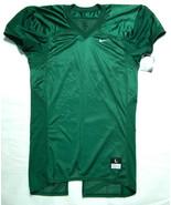 NWT NIKE 535703 SZ L UA GREEN WHITE NYLON FOOTBALL PRACTICE JERSEY SHIRT... - $18.20