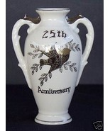 25th Anniversary Vase by Norcrest - $12.19