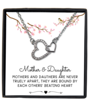 Mother & Daughter Necklace Gift, Daughter Birthday Gift, Necklace from Mother  - £18.28 GBP