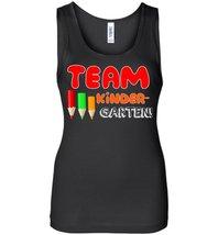 Team Kindergarten Teacher Tank - $21.99+