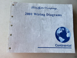 2001 Continental Wiring Diagram Manual - $2.82