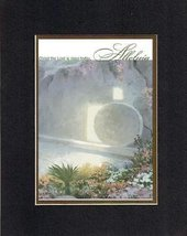 Poems for Easter - Christ the Lord is risen today  Alleluia. . . 8 x 10 Inches B - $11.14