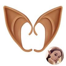 UVEEFUN Cosplay Halloween Elf Ears Costume Ears Tips Prosthetic Manga Ho... - $8.88