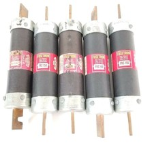 LOT OF 5 COOPER BUSSMANN FUSETRON FRS-R-150 DUAL-ELEMENT TIME-DELAY FUSES