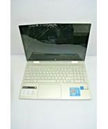 HP ENVY x360 m Convertible i5 11th Gen No RAM No SSD Damaged Screen Powe... - $419.99
