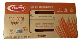 Barilla Red Lentil Spaghetti Pasta, 4 boxes, 4 x 12 oz - $35.00