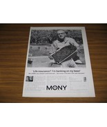 1963 Print Ad MONY Mutual of New York Life Insurance Bee Keeper & Bees - $9.78