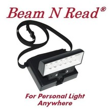 Beam n Read Personal Light portable light magnifier cross stitch needlework - $27.00