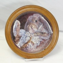 """Footloose Bunny Tales 8"""" Porcelain Plate 1st issue Bradford 2590E - $19.59"""