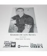 Kamar de los Reyes Autograph Reprint Photo 9x6 One Life Live 2005 Sleepy... - $9.99
