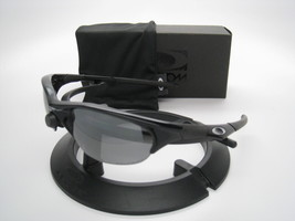 Oakley Gafas de Sol Half Jacket Jet Negro W/ Negro Iridio Polarizado 12-800 - $233.52
