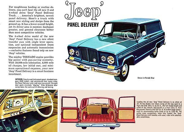 Primary image for 1962 Jeep Panel Delivery - Promotional Advertising Poster