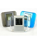 Polished Acrylic Travel Clock ~ Alarm, Calendar, 24HR Stopwatch, Sweda #... - $6.95