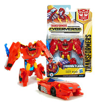 Transformers Cyberverse: Fusion Flame Autobot Hot Rod New in Package - $24.88