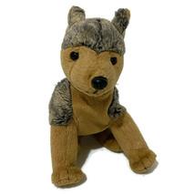 "Ty Beanie Babies Sarge German Shepherd Bean Bag Plush Dog 6"" Brown Gray ... - $11.30"