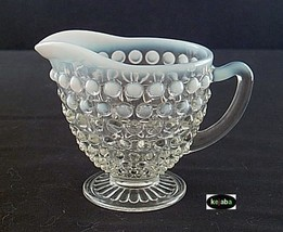 Moonstone Creamer Hocking - $7.50